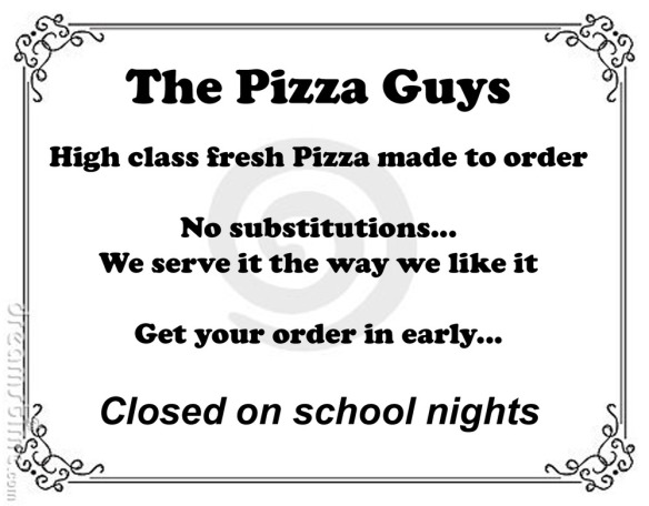 The Pizza Guys...